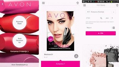 Avon Mobil Uygulama Görüntüsü